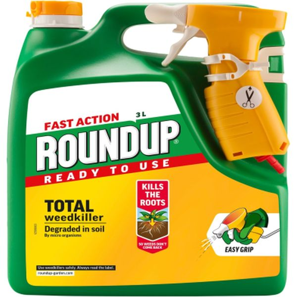 ROUNDUP® FAST ACTION READY TO USE WEEDKILLER 3L