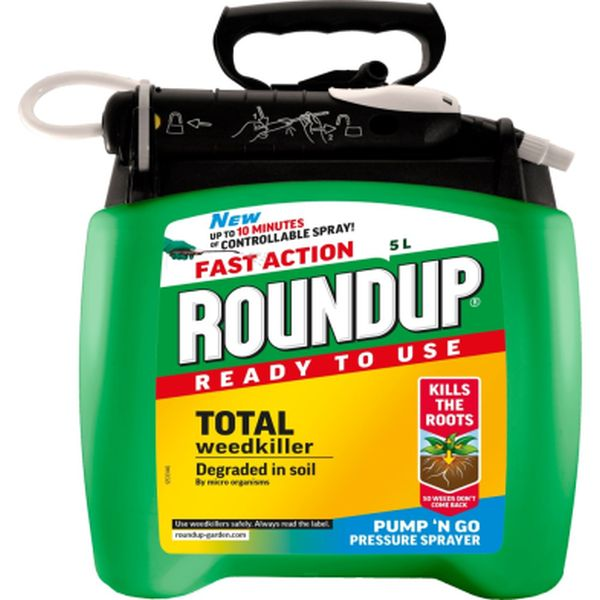 ROUNDUP® FAST ACTION READY TO USE WEEDKILLER PUMP 'N GO 5L