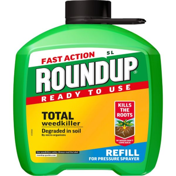 ROUNDUP® FAST ACTION READY TO USE WEEDKILLER PUMP 'N GO 5L REFILL