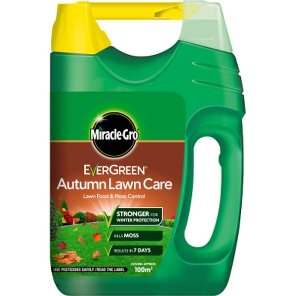 MIRACLE-GRO AUTUMN LAWN SPREADER 4X100M2