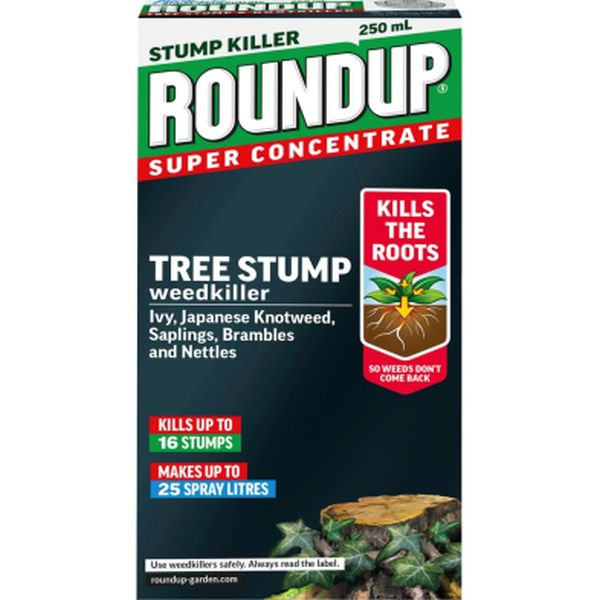 ROUNDUP® TREE STUMP WEEDKILLER CONCENTRATE 250ML
