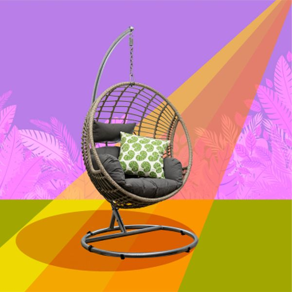 The Round Wicker Hanging Chair - Single