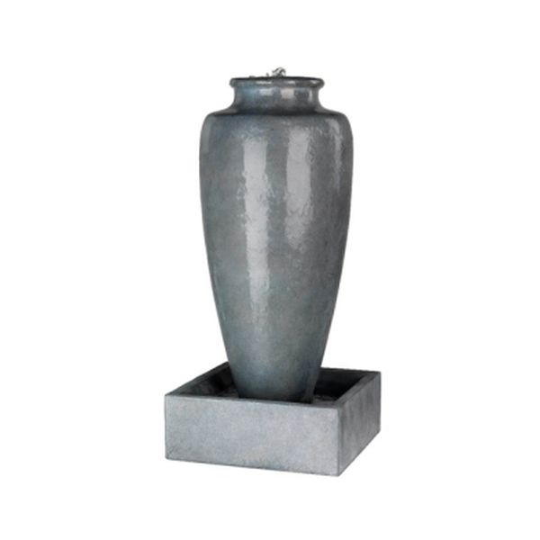 Grey Slim Jar Fountain