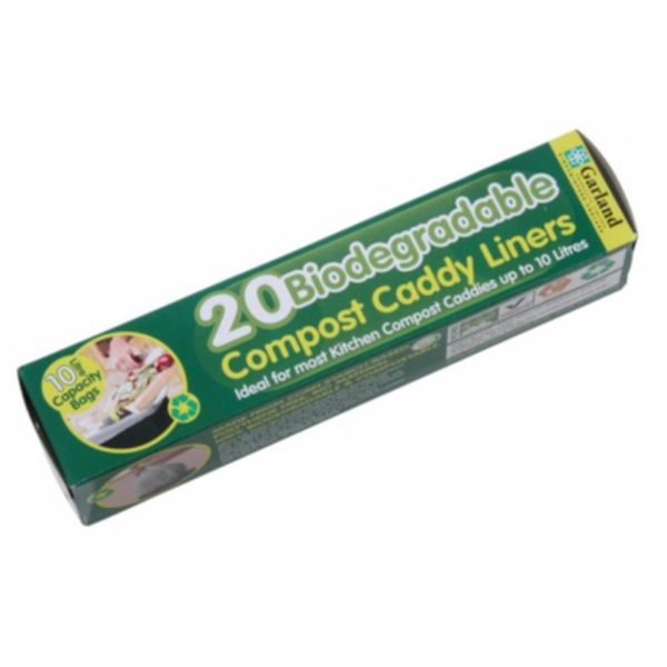 Biodegradable 10lt Compost Caddy Liners