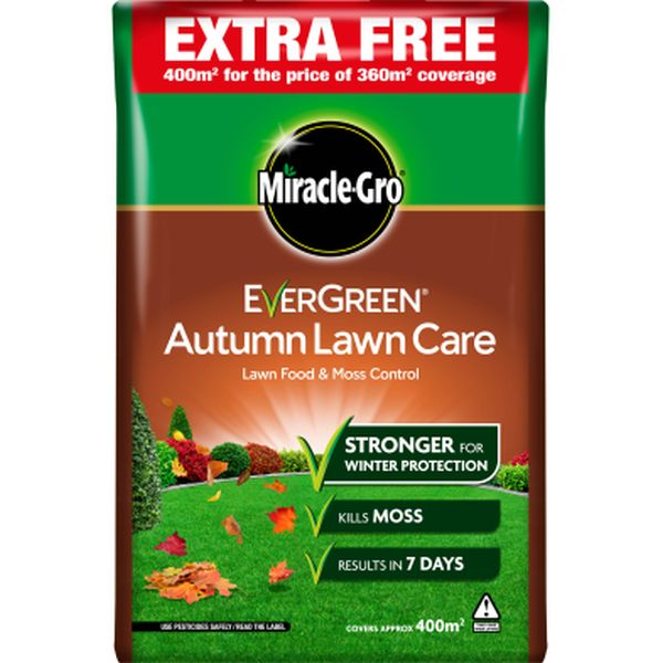 MIRACLE-GRO AUTUMN LAWN 360M2 + 10%