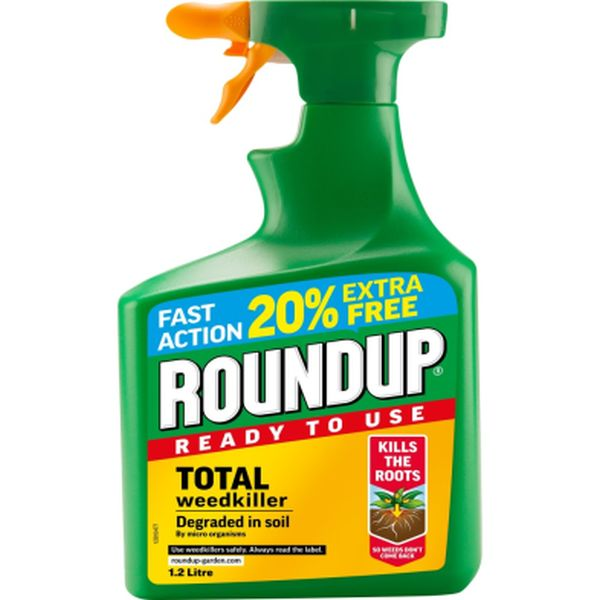 ROUNDUP® FAST ACTION READY TO USE WEEDKILLER 1.2L