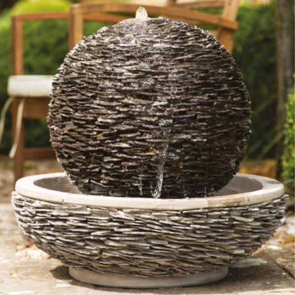 Single Lagoon Slate Water Feature