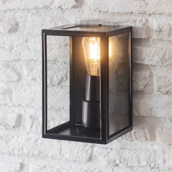 Belgrave Outdoor Lantern In Carbon - Steel