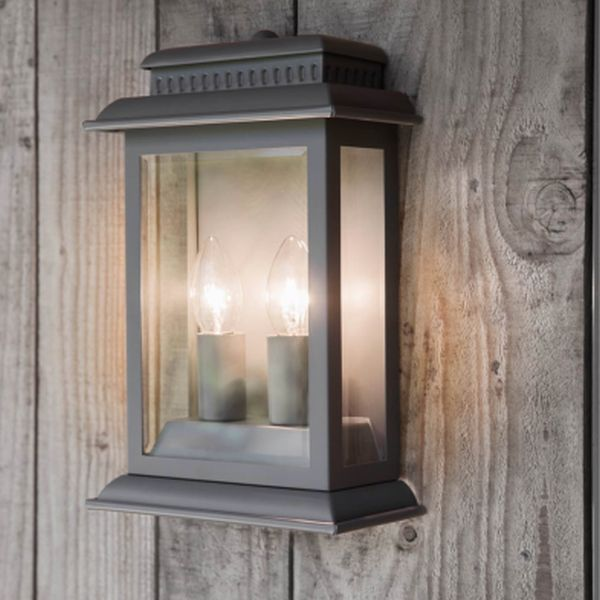 Belvedere Light In Charcoal - Steel