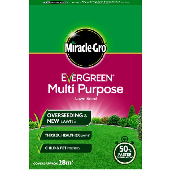 MIRACLE-GRO® EVERGREEN® MULTI PURPOSE LAWN SEED 860kg