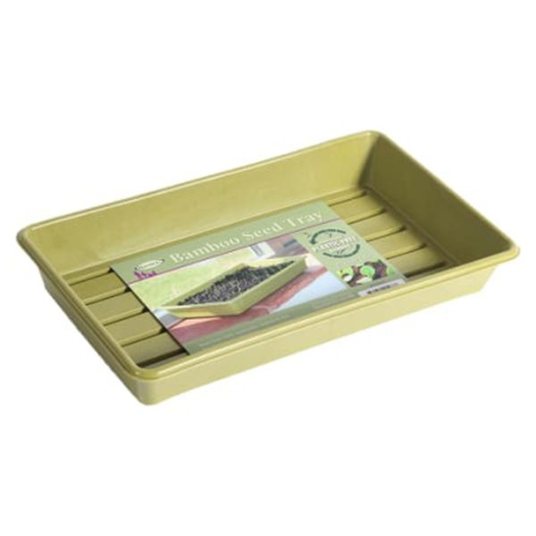 Bamboo Seed Tray Green