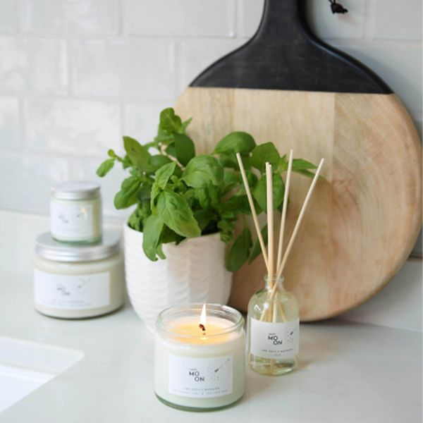 Happy - Lime, Basil and Mandar Candle 250ml