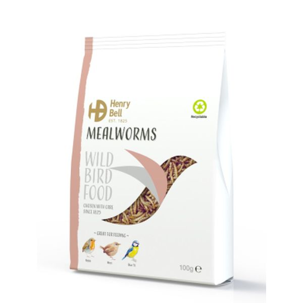 Henry Bell Mealworm 100g