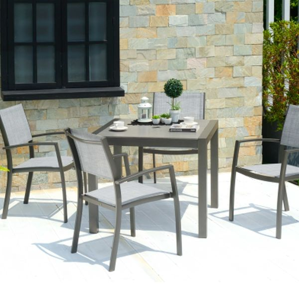 Solana Square Dining Set