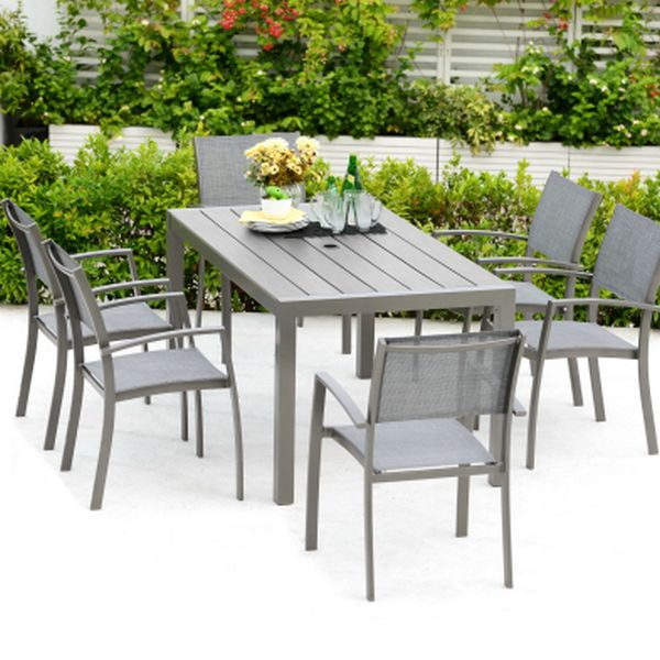 Solana Rectangle Dining Set