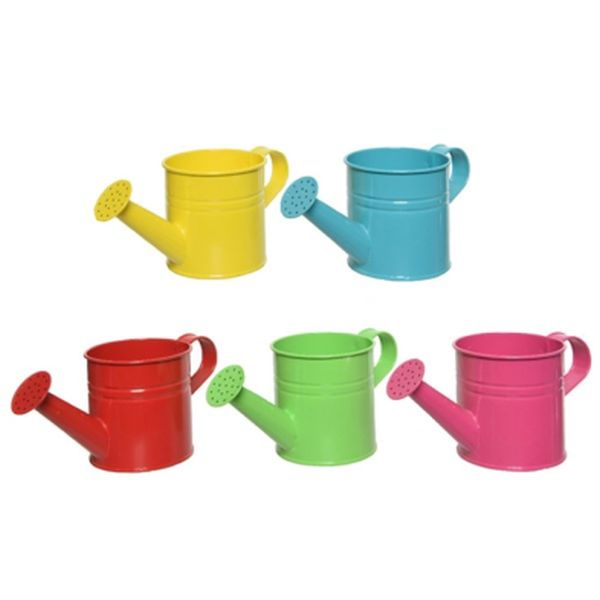 Children's metal watering Can (Assorted Colours, Single)