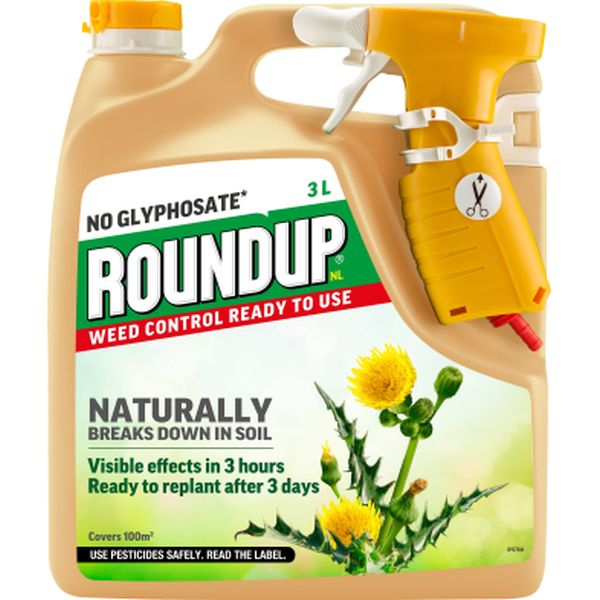 ROUNDUP® NL WEED CONTROL READY TO USE 3L