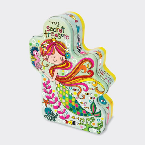 Shaped Tins - Secret Treasure/Mermaid