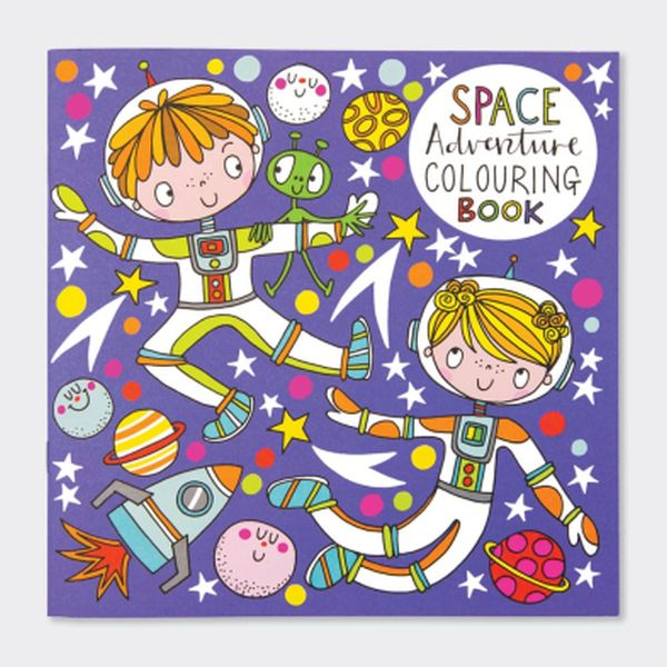 Adventures in Space Colouring Book