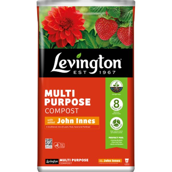 LEVINGTON® MULTI PURPOSE COMPOST WITH ADDED JOHN INNES 20L
