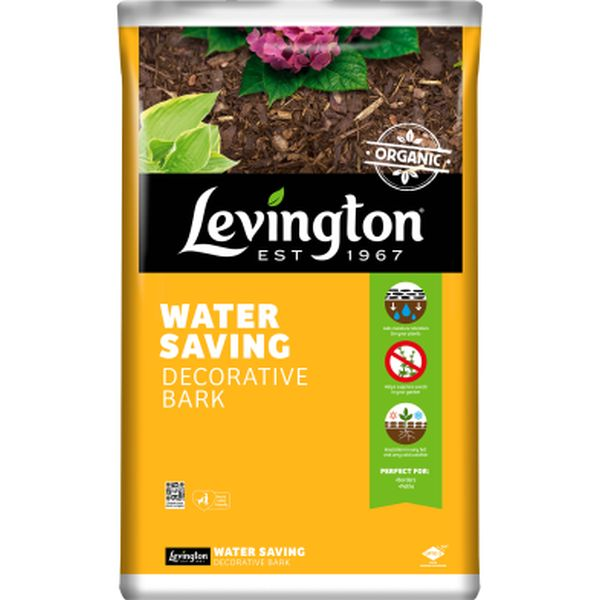 LEVINGTON® WATER SAVING DECORATIVE BARK 75L