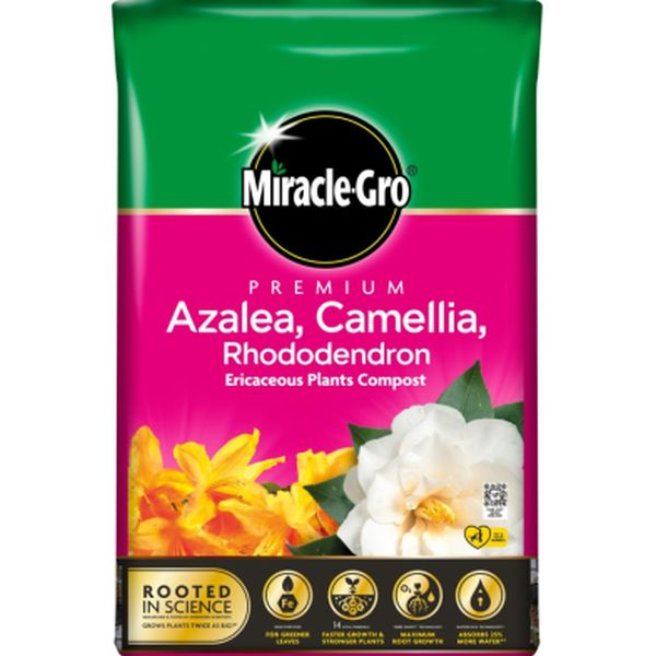 MIRACLE-GRO® AZALEA, CAMELLIA & RHODODENDRON ERICACEOUS 20L