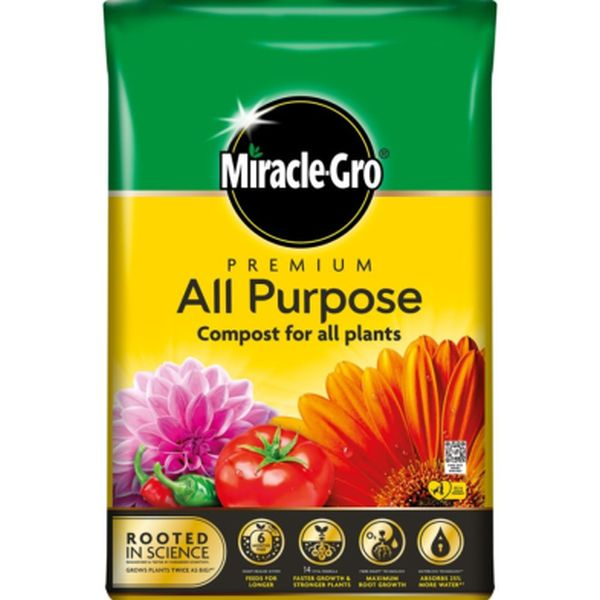 MIRACLE-GRO® PREMIUM ALL PURPOSE 40L