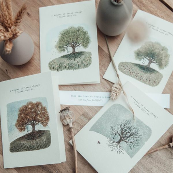Tree Collection Greeting Cards
