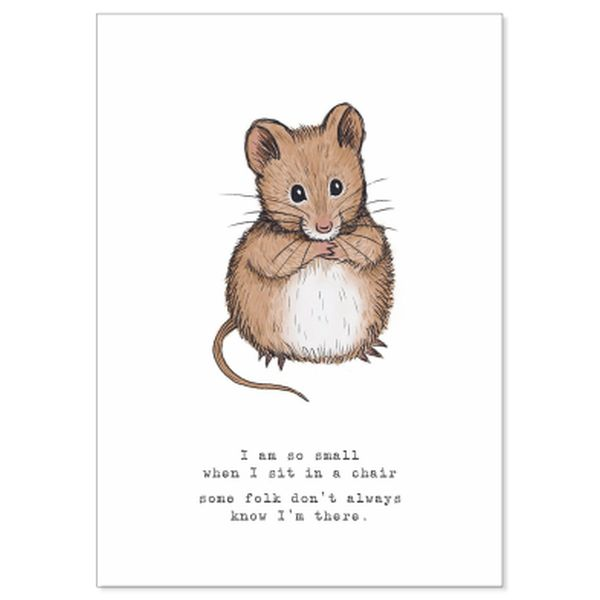 Mouse II Greeting Cards