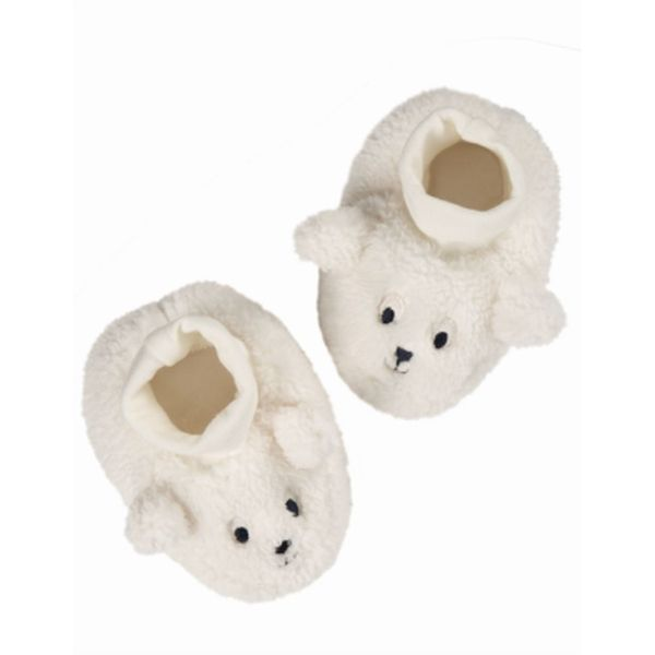 Cosy Booties, Soft White/ Sheep