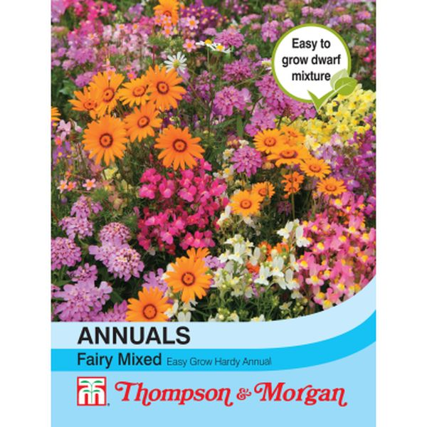 T&M Easy Annuals Fairy Mixed