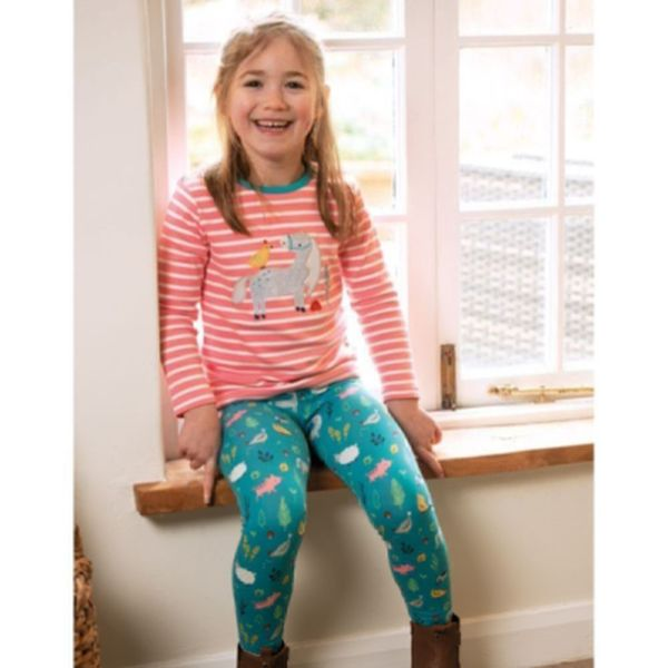 Libby Printed Leggings, Farmyard, 0-3m