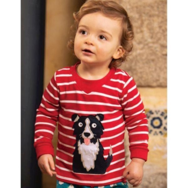 Easy On Top, Tango Red Breton/Dog, 0-3m