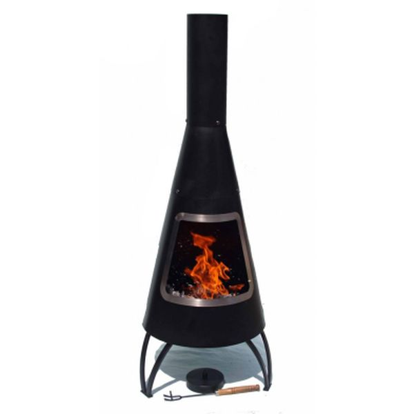 Cono Steel Chimenea - Steel Rim